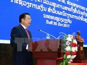 Premier de Laos destaca cooperación financiera con Vietnam