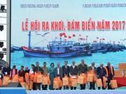 Vietnam celebra primer festival de salida al mar