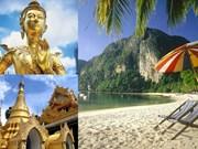 Tailandia espera lograr meta turística de 20 mil 900 millones de dólares