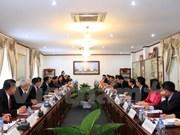 Fortalecen cooperación entre Oficinas Presidenciales de Vietnam y Laos