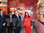 Exposición honra al exsecretario general del PCV Le Duan