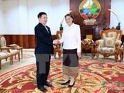 Líderes laosianos aprecian apoyo de auditoría de Vietnam
