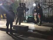 Tailandia: Dos heridos en una explosión de bomba en Bangkok