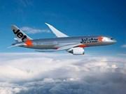 Jetstar Airways abrirá dos rutas directas a Ciudad Ho Chi Minh
