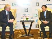 Hanoi solicita apoyo de Microsoft para convertirse en vivero tecnológico