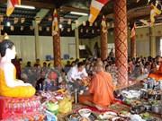Khmeres en Tra Vinh festejan Chol Chnam Thmay