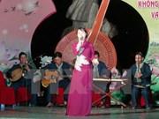 """Festival promueve la preservación de arte tradicional """"Don ca tai tu"""""""