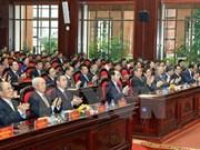 Presidente vietnamita resalta aportes del comité partidista en organismos centrales