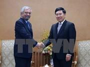 Vicepremier vietnamita recibe a nuevo coordinador de PNUD