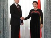 Parlamento vietnamita promete condiciones jurídicas favorables para socios checos