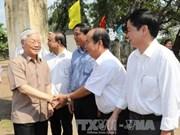 Líder partidista vietnamita visita la comunidad desfavorecida en provincia altiplánica