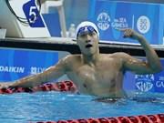 Nadador vietnamita gana medalla de oro en torneo en Suecia