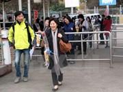 Vietnam recibió a más de tres millones de viajeros en primer trimestre de 2017