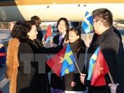 Valoran de éxito la gira de presidenta del Parlamento vietnamita por Europa
