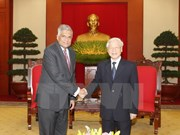 Líderes vietnamitas reciben a primer ministro de Sri Lanka