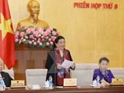 Comité Permanente del Parlamento vietnamita inicia novena reunión
