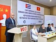 Vietnam y Cuba poseen gran potencialidad de cooperación comercial