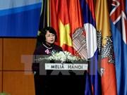 Vicepresidenta vietnamita llamó a promover papel de conexión de ICA Asia-Pacífico