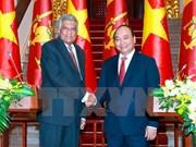 Vietnam y Sri Lanka ratifican determinación de elevar el nivel de sus nexos