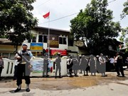 Indonesia despliega más de 60 mil efectivos de seguridad para elecciones en Yakarta