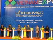 Vietnam Expo 2017 abre sus puertas en Hanoi