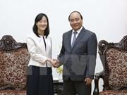 Premier vietnamita recibe a la directora general del grupo taiwanés