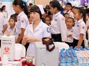 Laos ofrece atención médica gratuita a niños