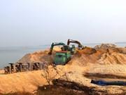 Tay Ninh suspende actividades de extracción de arena en embalse Dau Tieng