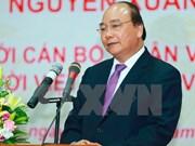 Premier vietnamita dialoga con Supremo Patriarca budista de Camboya