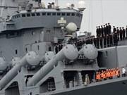 Flota del Pacífico de la Armada rusa visita puerto vietnamita de Cam Ranh
