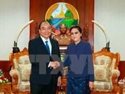Líderes de Laos aprecian visita del primer ministro vietnamita