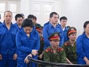 Sentencian en Vietnam a pena capital a ocho narcotraficantes