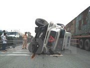 Reportan 43 accidentes de tráfico en primeros días festivos