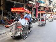 Aluvión de turistas en Hanoi en días feriados