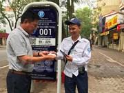 Hanoi emprende servicio de aparcamiento inteligente