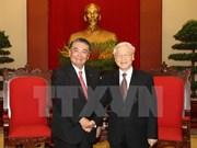 Líder partidista de Vietnam satisfecho ante desarrollo de relaciones con Japón