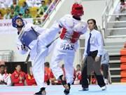 Taekwondistas vietnamitas ganan tres medallas de oro en campeonato mundial