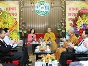 Felicitan a comunidad budista en celebración de Vesak 2017
