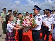 Buque guardacostas de Vietnam continúa actividades en China
