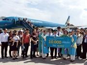 Vietnam Airlines celebra vuelo número 10 mil en aeropuerto de Da Nang