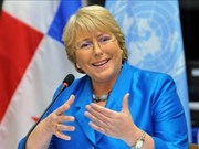 Inicia presidenta de Chile visita oficial a Indonesia