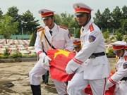 Entierran restos de mártires vietnamitas caídos en Laos