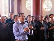 Vietnamitas en Laos rinden homenaje al Presidente Ho Chi Minh