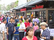 Calle de libros de Hanoi atrae gran interés del público