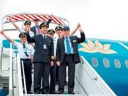 Pilotos comerciales vietnamitas se gradúan en Australia