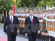 Presidente vietnamita concluye visita a China