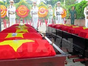 Repatrían restos de soldados voluntarios vietnamitas caídos en Camboya y Laos