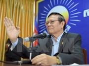 Camboya: CNRP mantiene vicepresidentes electos