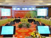 Clausuran Reunión de Altos Funcionarios de Finanzas del APEC