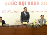 Agenda del tercer período de sesiones del Parlamento de Vietnam